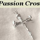 "A Heavenly Father's Love"" Cross Sterling Silver Pendant Men or Ladies"