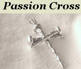"""A Heavenly Father's Love"""" Cross Sterling Silver Pendant Men or Ladies"""