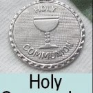 "Holy Communion"" Charm Silver"