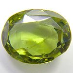GENUINE CHRYSOBERYL OVAL SHAPE