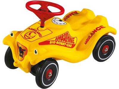 Big Bobby Car Classic Ambulance Yellow
