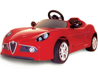 Authentic copy of the Alfa Romeo 8C