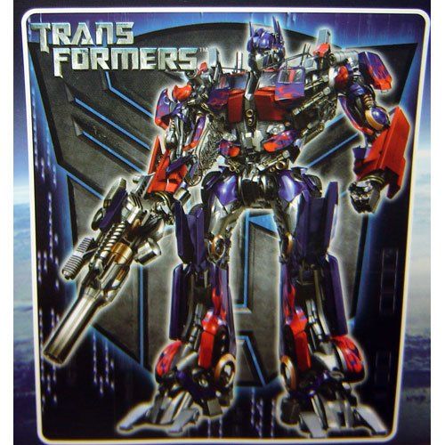"50"" x 60"" Transformers Optimus Fleece Blanket."