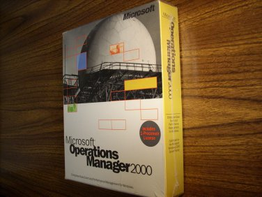 Microsoft Operations Manager 2000 (1 Processor License)(Windows)