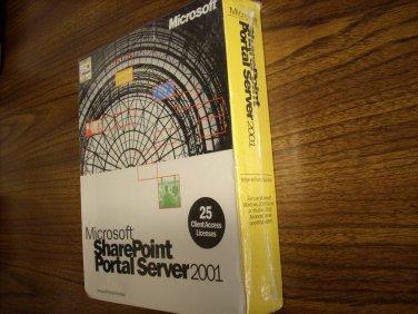 Microsoft Sharepoint Portal Server 2001 (25-client CAL)(Windows)