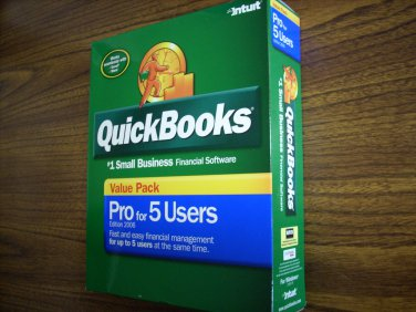 Quickbooks Pro 2006 (5-User)(Windows)