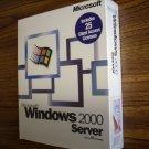 Microsoft Windows 2000 Server (25-client CAL)