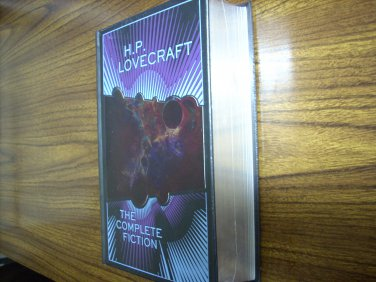 H.P. Lovecraft: The Complete Fiction Leatherbound