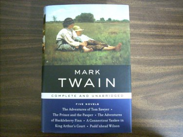Mark Twain: Five Novels (Library of Essential Writers)