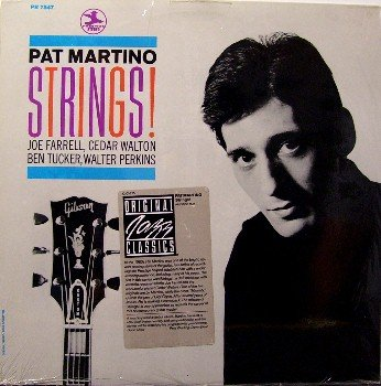 Martino, Pat - Strings - Vinyl LP Record - Sealed Jazz Prestige OJC - Joe Farrell , Cedar Walton