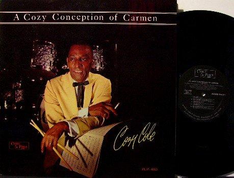 Cole, Cozy - A Cozy Conception Of Carmen - Vinyl LP Record - Charlie Parker Jazz