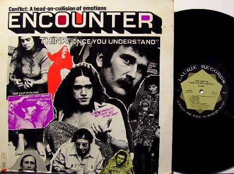 Think - Once You Understand Encounter - Vinyl LP Record - Drugs Overdose - Weird Odd Unusual Rock