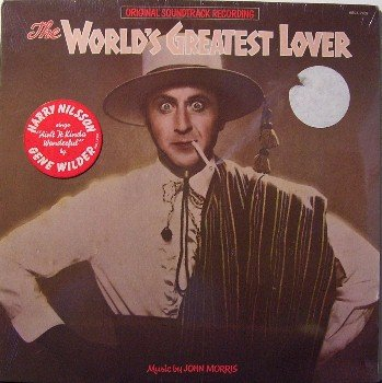 World's Greatest Lover - Soundtrack - Sealed Vinyl LP Record - Gene Wilder / Harry Nilsson - OST