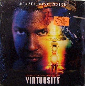 Virtuosity - Soundtrack - Sealed 2 Vinyl LP Record Set - Traci Lords - Peter Gabriel - Rock OST