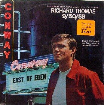 9/30/55 - Soundtrack - Sealed Vinyl LP Record - James Dean - Webb Pierce / Kitty Wells - OST