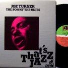 Turner, Joe - Boss Of The Blues - Vinyl LP Record - Atlantic Label Canadian Pressing