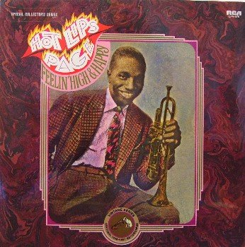 Page, Hot Lips - Feelin' High & Happy - Sealed Vinyl LP Record - Blues
