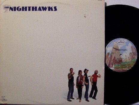 Nighthawks, The - Self Titled - Vinyl LP Record - Blues - with Insert
