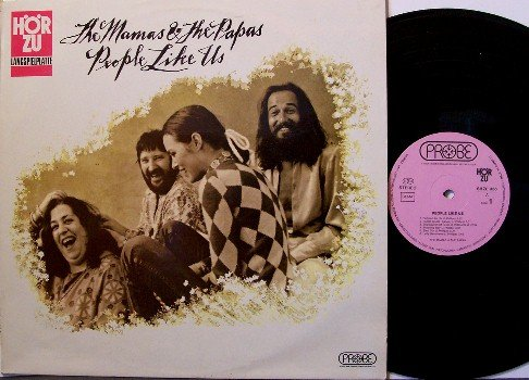 Mamas & Papas, The - People Like Us - Germany Pressing - Vinyl LP Record - Rock
