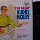 Holly, Buddy - The Great Buddy Holly - Vinyl LP Record - Canadian Pressing - Vocalion - Rock