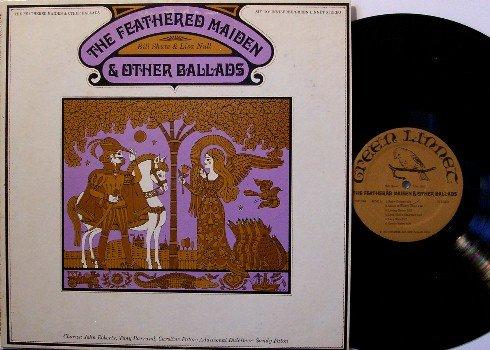 Shute, Bill & Lisa Null - Feathered Maiden - Vinyl LP Record - Green Linnet Folk