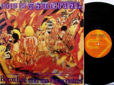Lee, Byron - This Is Carnival - Vinyl LP Record - Jamiaca Pressing - Reggae - BWIA Airlines Promo
