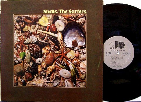 Surfers, The - Shells - Vinyl LP Record - Autographed by all 4 Members- Hawaii Surf - Private Label