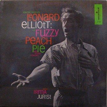 Elliott, Leonard - Fuzzy Peach Pie & Other Lunacy - Sealed Vinyl LP Record - Odd Monster Strange