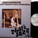 Hamilton, Chico - That's Jazz - Vinyl LP Record - Canada Pressing - Eric Dolphy , Charles Lloyd