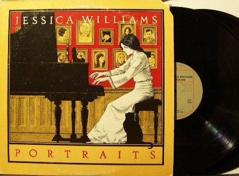 Williams, Jessica - Portraits - 2 Vinyl LP Record Set - Adelphi - Improv Avant Garde Free Jazz
