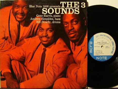 Three Sounds - The 3 Sounds - Vinyl LP Record - Blue Note - Deep Groove - Jazz - RVG - The Ear