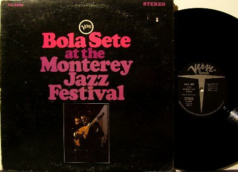Sete, Bola - At The Monterey Jazz Festival - Vinyl LP Record - Gatefold - MGM Verve Jazz