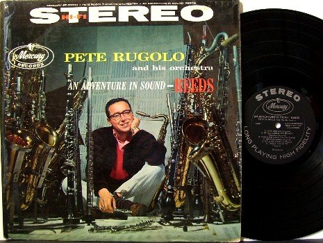 Rugolo, Pete - An Adventure In Sound Reeds - Vinyl LP Record - Mercury Jazz