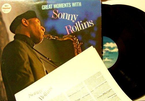 Rollins, Sonny - Great Moments With - 2 Vinyl LP Record Set - MCA Impulse - Jazz