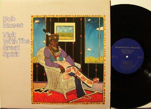 Moses, Bob - Visit With The Great Spirit - Vinyl LP Record - Gramavision Jazz