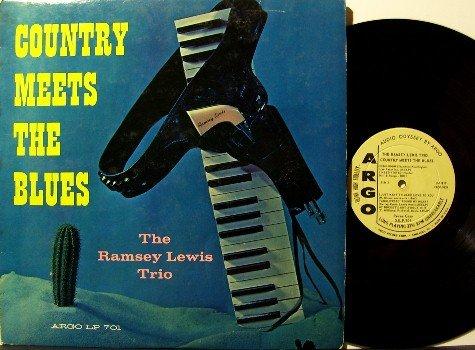Lewis, Ramsey - Country Meets The Blues - Vinyl LP Record - Mono - Argo Jazz