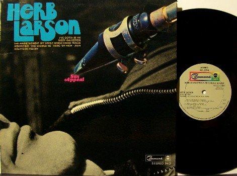 Larson, Herb - Sax Appeal - Vinyl LP Record - Original 1969 Release - Jazz