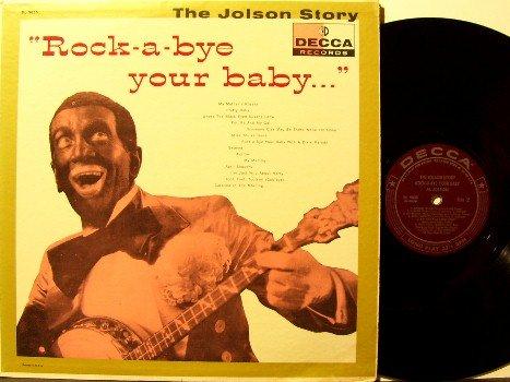 Jolson, Al - Rock A Bye Your Baby - Vinyl LP Record - Original Decca Label Mono - Jazz