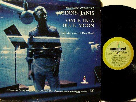 Janis, Johnny - Vinyl LP Record - Jazz - Playboy Playmate Ellen Stratton Photo- Hugh Hefner Produced