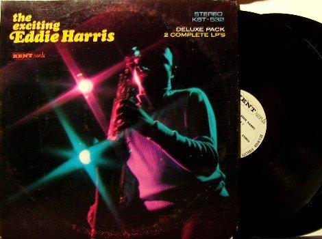 Harris, Eddie - The Exciting Eddie Harris - 2 Vinyl LP Record Set - Gatefold Cover - Kent Jazz