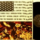 Harmony Military Band - Stars & Stripes Forever - Vinyl LP Record - Mono - Jazz - Patriotic