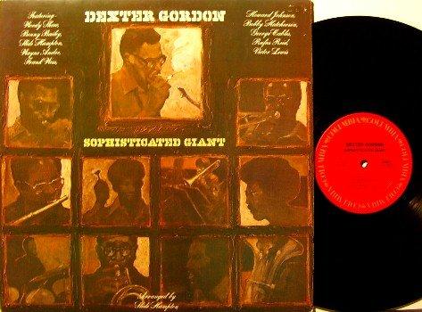 Gordon, Dexter - Sophisticated Giant - Vinyl LP Record - Jazz - Promo with insert