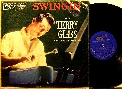 Gibbs, Terry - Swingin' - Vinyl LP Record - Mono - Emarcy Jazz