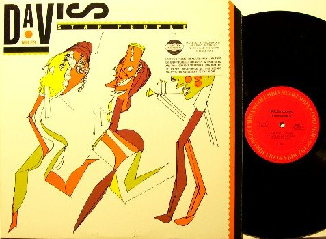 Davis, Miles - Star People - Vinyl LP Record - Promo - Jazz