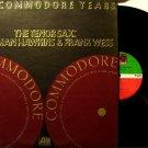 Commodore Years - The Tenor Sax Coleman Hawkins & Frank Wess - 2 Vinyl LP Record Set - Jazz