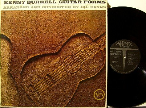 Burrell, Kenny - Guitar Forms - Vinyl LP Record - Verve Jazz