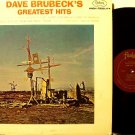 Brubeck, Dave - Greatest Hits - Vinyl LP Record - Original Mono Fantasy Jazz
