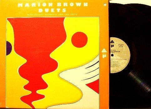 Brown, Marion - Duets - 2 Vinyl LP Record Set - Improv Free Jazz - Elliott Schwartz, Leo Smith
