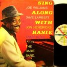 Basie, Count - Sing Along With Basie - Vinyl LP Record - Mono - Roulette Jazz