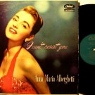 Alberghetti, Anna Maria - I Can't Resist You - Vinyl LP Record - Original Capitol Mono Jazz